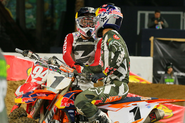 Ken Roczen and Ryan Dungey.