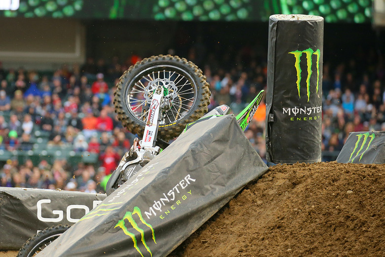 Austin Forkner's bike taking a break.