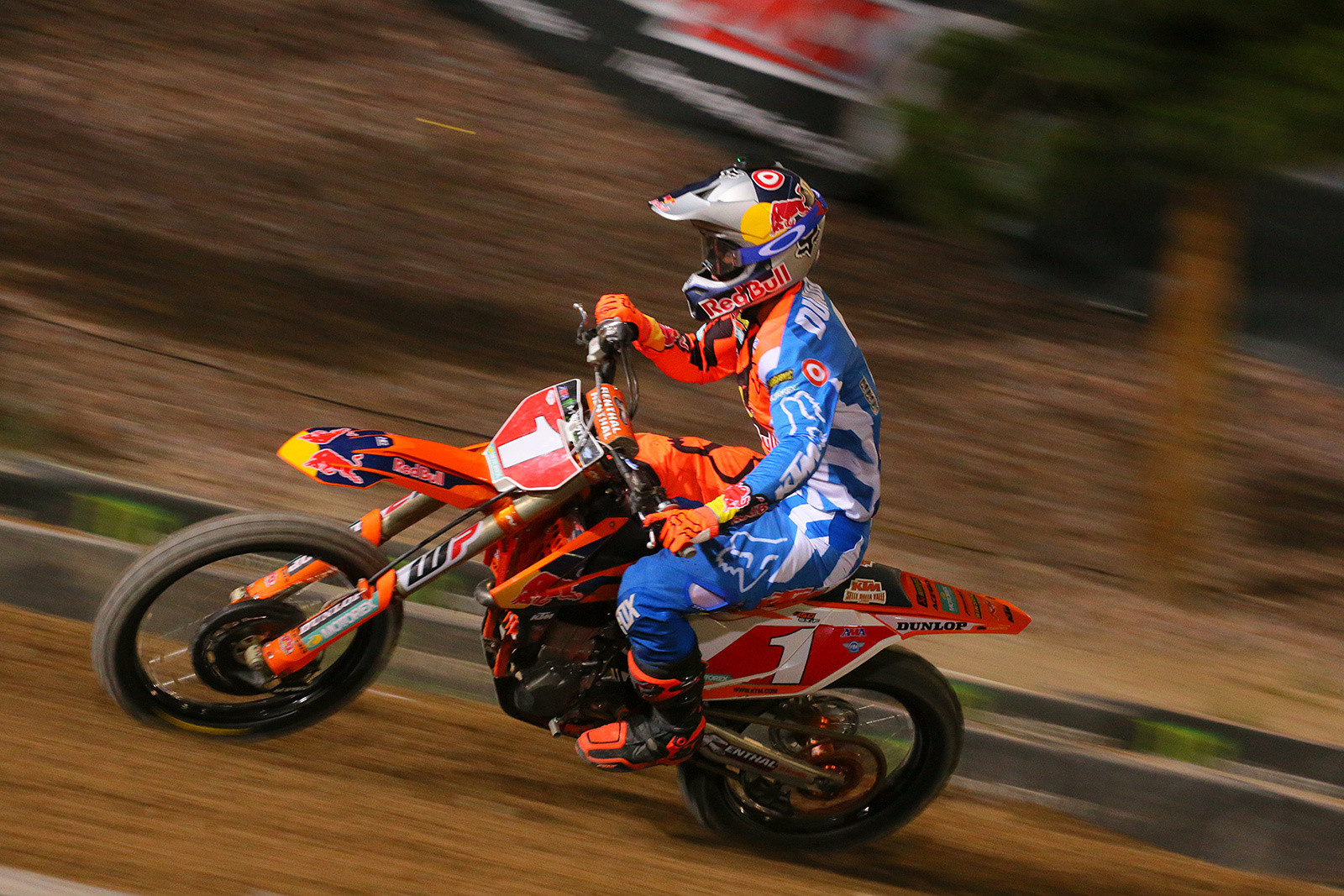 Ryan Dungey needed to finish fourth or better if Eli Tomac won, so he had to not only play offense, but defense.