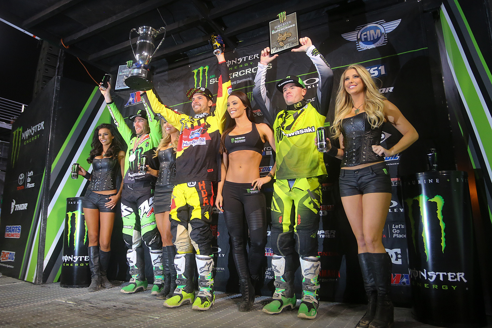 Jason Anderson was pumped on scoring a win before the season, and getting that monkey off his back. The team had plenty of fun celebrating his win and Zach's championship.