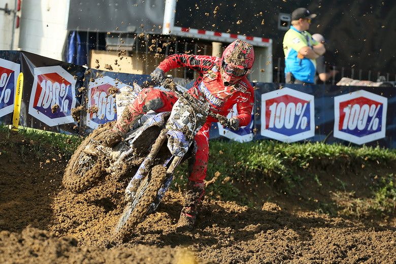 Dean Ferris is looking pretty damn fast in his first U.S. National. The Aussie finished up third in qualifying.