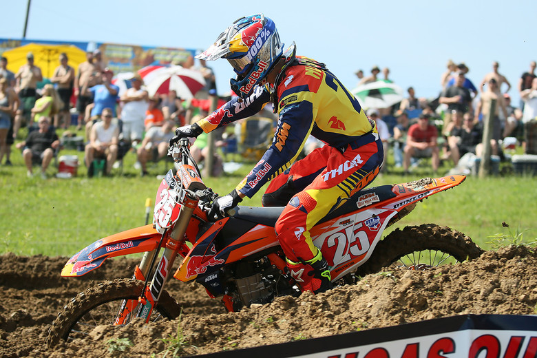 Marvin was looking a little reserved out there during practice. 16th in qualifying for the Frenchman.