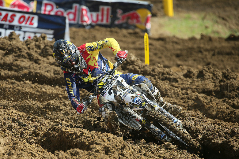 Jason Anderson was the fastest qualifier in the 450 class.