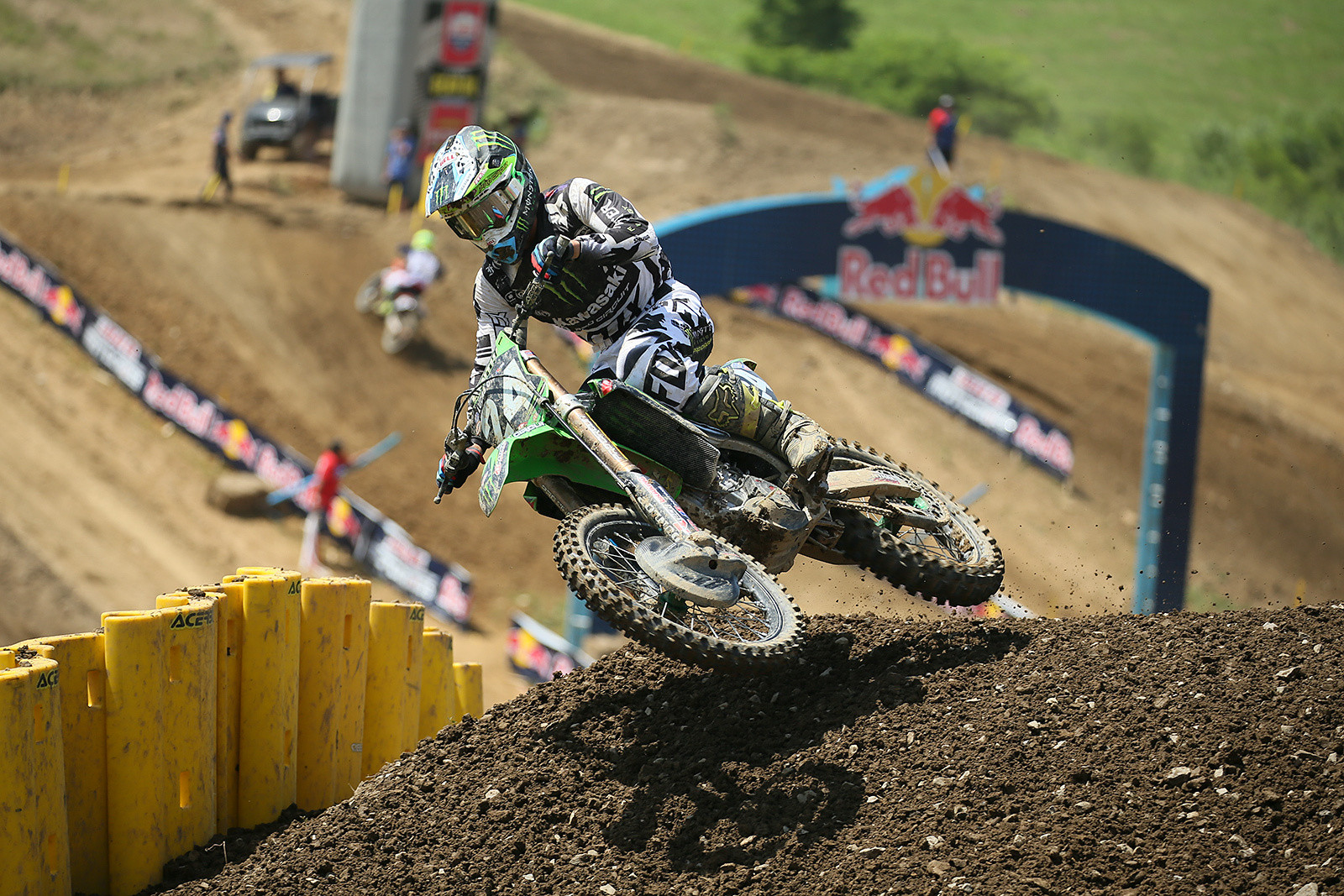 Austin Forkner scored a pair of sixth-place moto finishes.