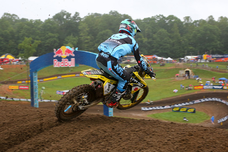 Justin Bogle is looking for his second moto win of the season.