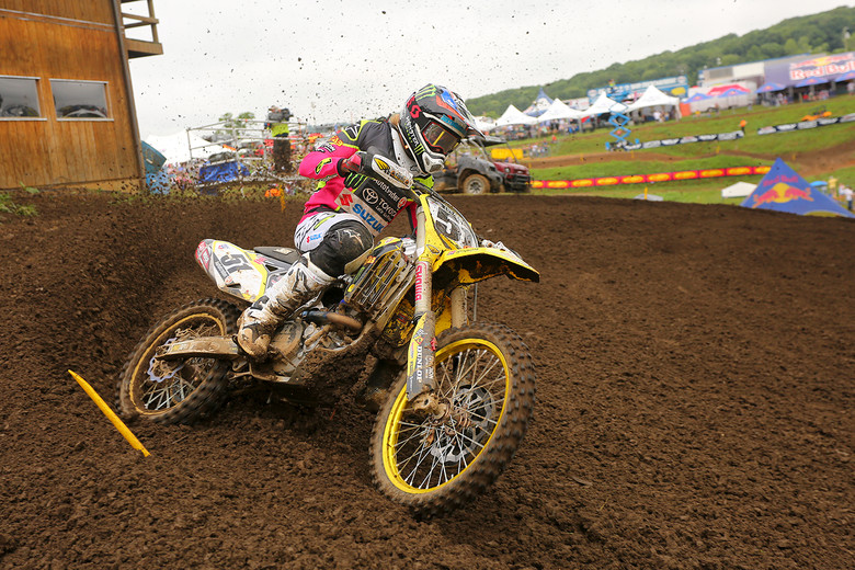 Justin Barcia is back after sitting out of High Point. He was second.