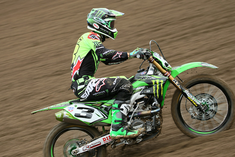 Eli Tomac will be looking to have a crash free weekend.