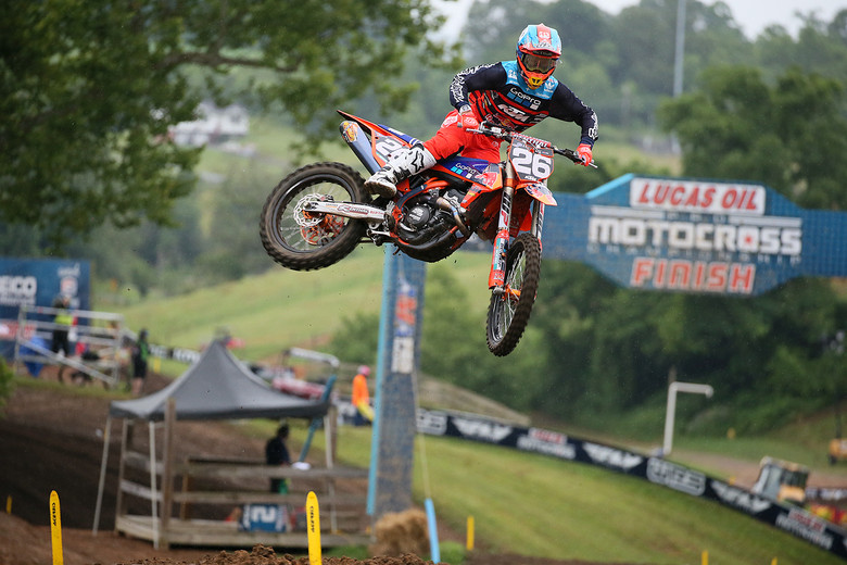 Let's hope Alex Martin gets some good starts today.