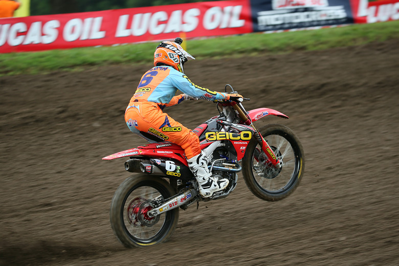 Jeremy Martin was fastest in qualifying and is looking for another win.