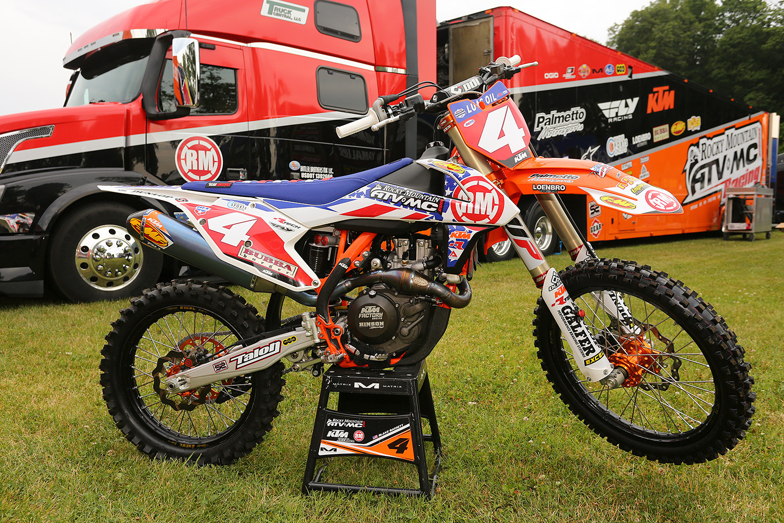 Blake Baggett's Rocky Mountain ATV/MC-KTM-WPS 450.