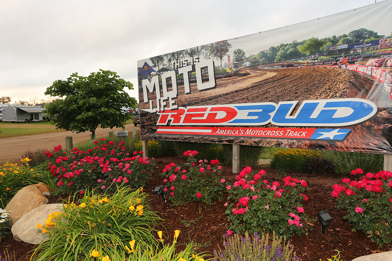 RedBud has something for everyone. You want to race on the main track? Yep, that's possible. Night races? They've got those, too. There's family-friendly stuff (it's almost a fair-like atmosphere by the night track). There are also regular campers, and Lot B for the heavy-duty party crowd.