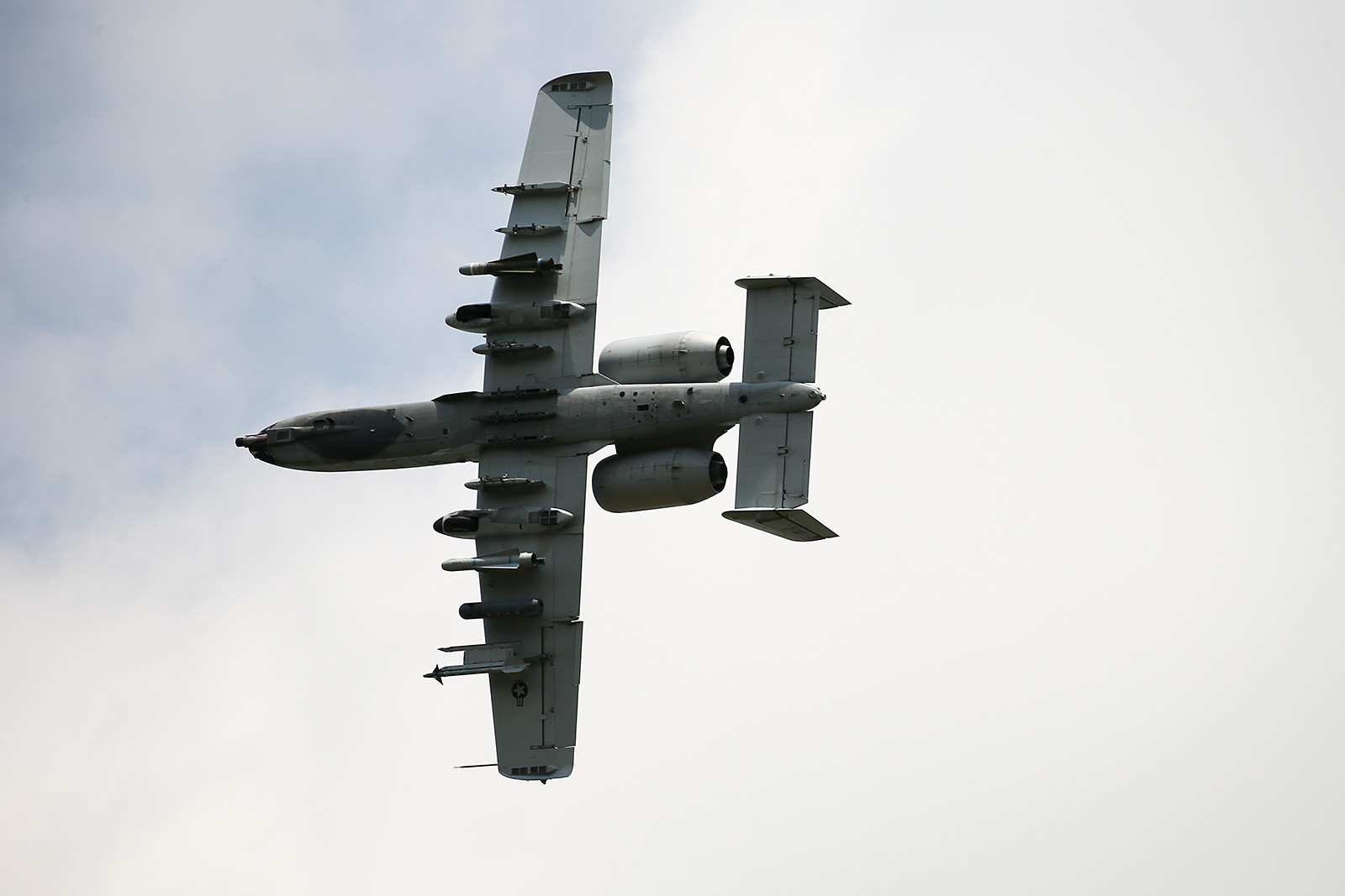 And finally, to all our military personnel around the world, thanks for all you do. A pair of A-10s buzzed over the track on Thursday during press day. We're not sure if they were moto fans or not, but either way, we appreciated the show.