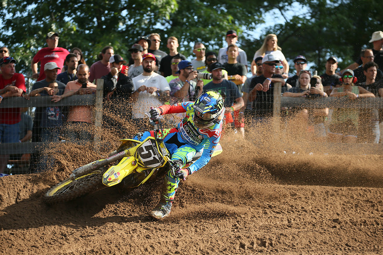 Justin Barcia will be looking to get good starts and a couple of podium finishes today.