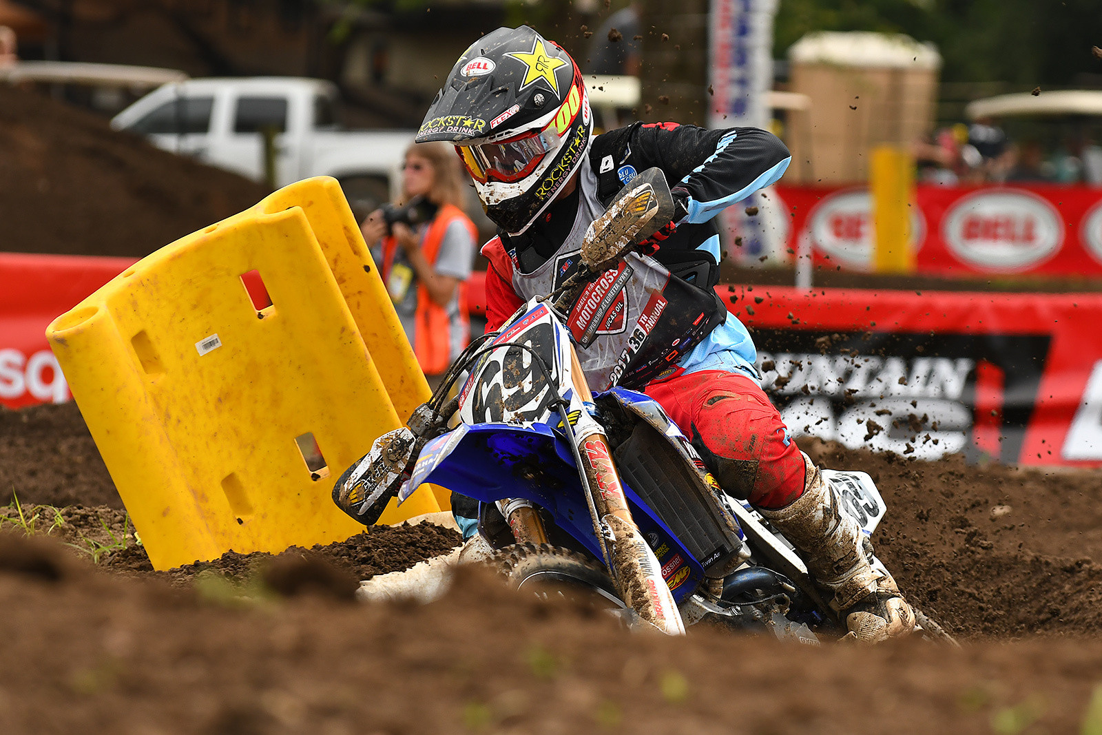 After finishing eleventh in his first Moto, Challen Tennant came on strong in his second A class Moto of the day.