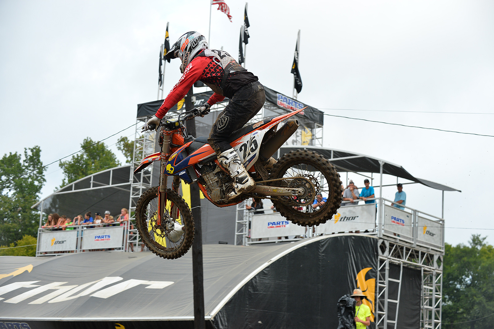 9-2-2 Moto scores earned KTM's Nathan Ramsey a third overall in the Senior (40+) class at Loretta Lynn's.