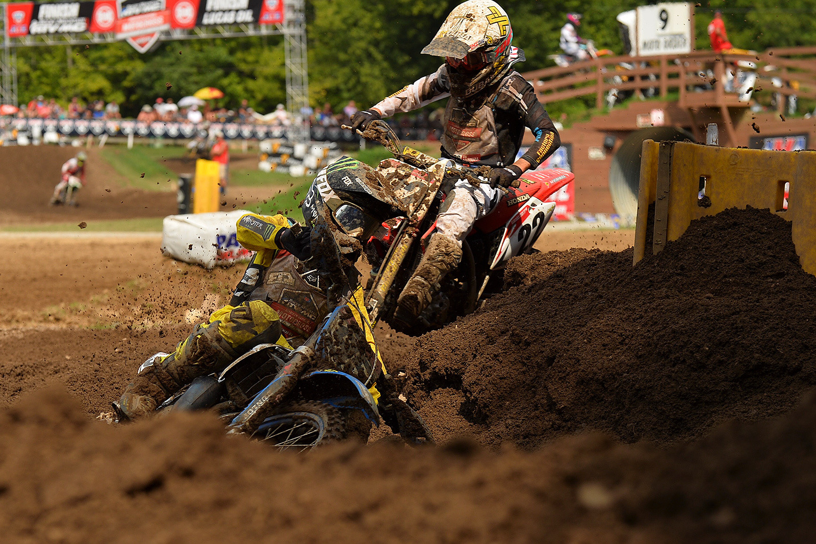 It wasn't easy, but Ty Masterpool was able to secure the Supermini 2 (13-16) class championship.