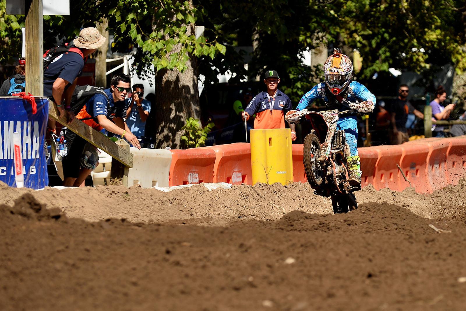 The future looks bright for KTM Orange Brigade's Haiden Deegan.