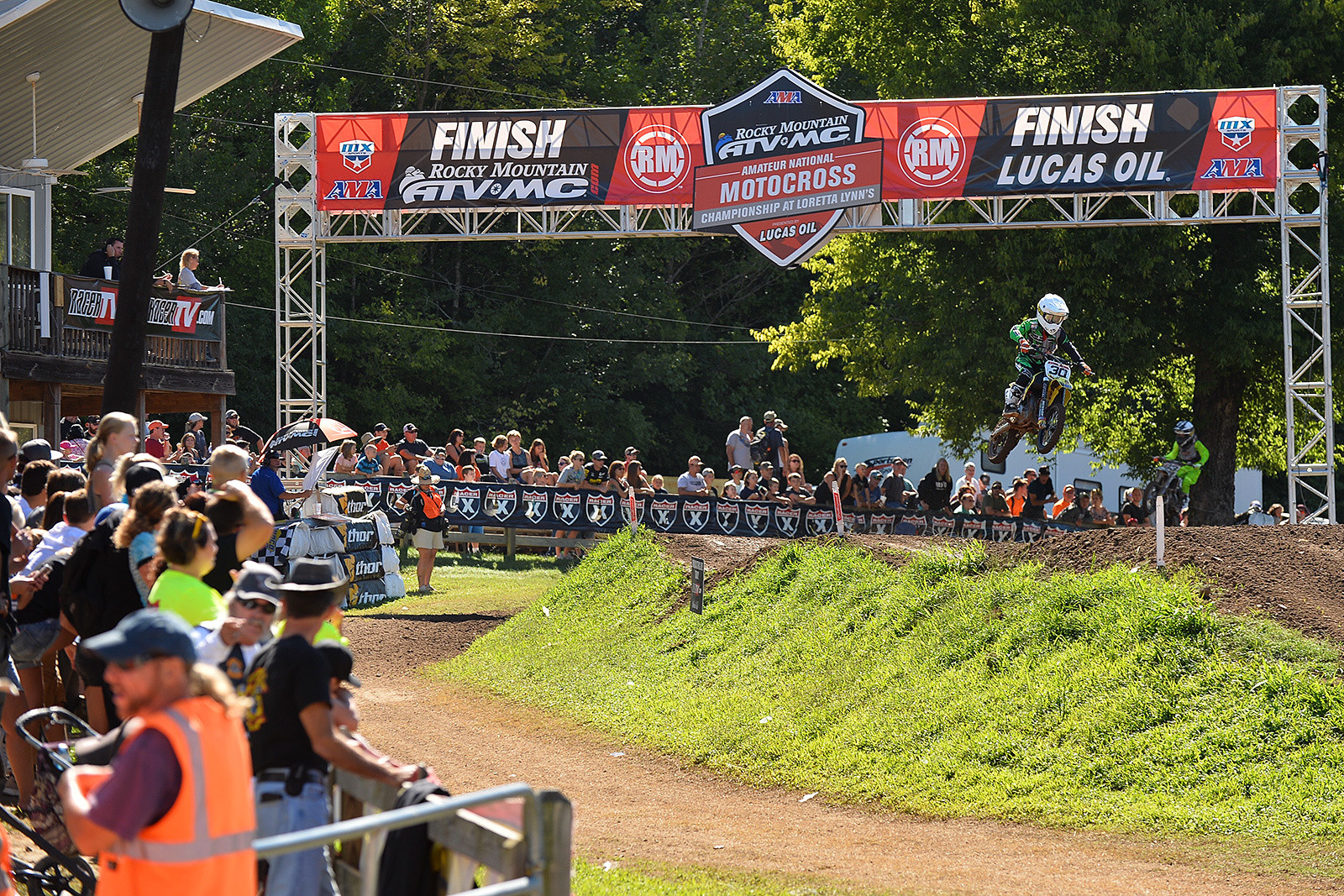 Chattanooga, Tennessee's, Drew Adams took home the National Championship in the 51cc (7-8) Limited class.