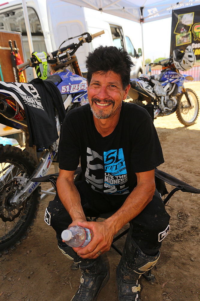 Normally when we see Craig Monty, he's in his team uniform as the Team Manager of the 51Fifty Yamaha team.
