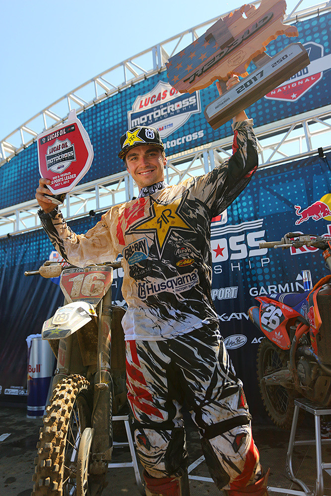 Zach Osborne has been collecting plenty of wins and red plates this season.