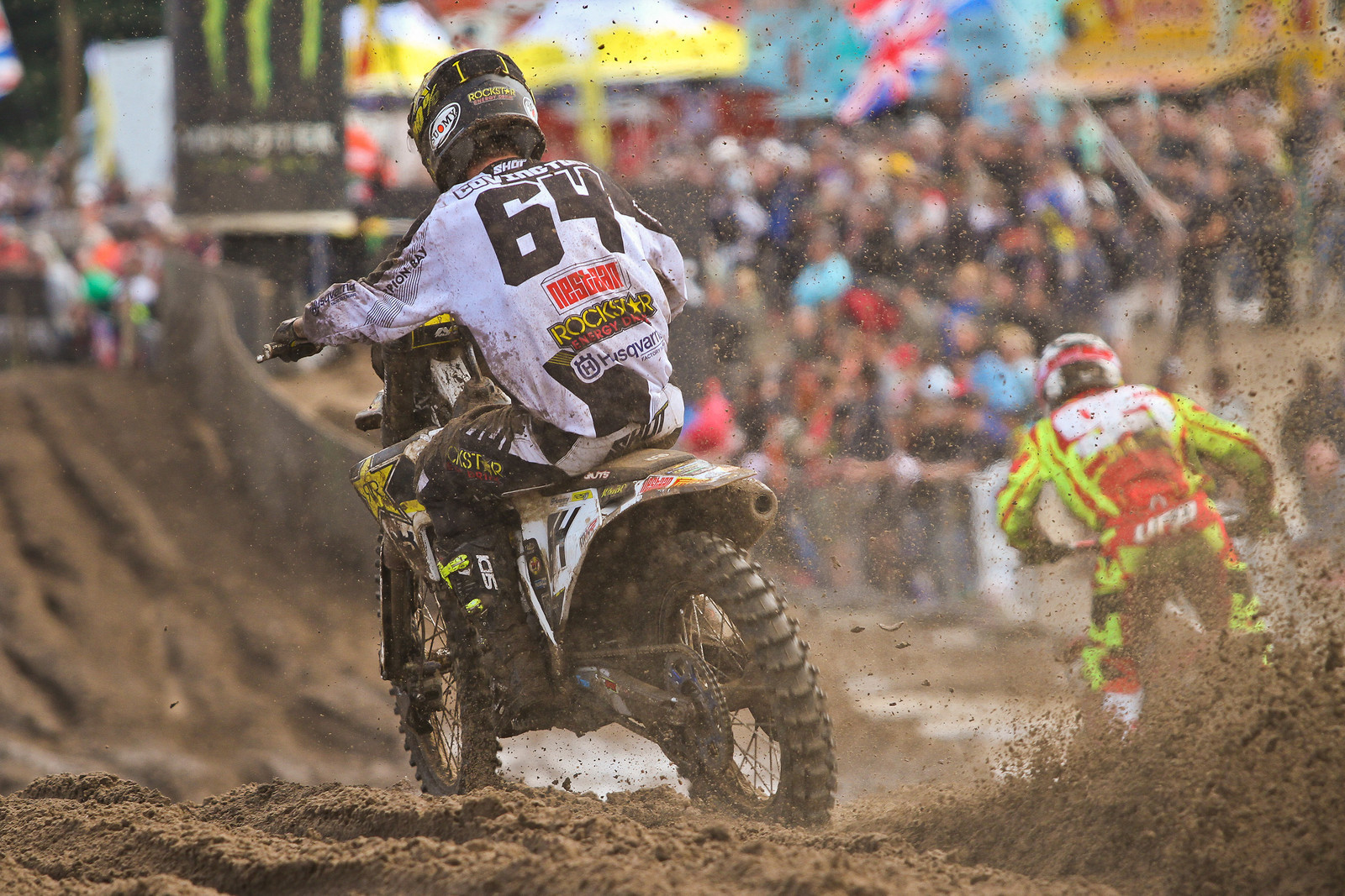 Thomas Covington digging in the sand during this year's GP season.