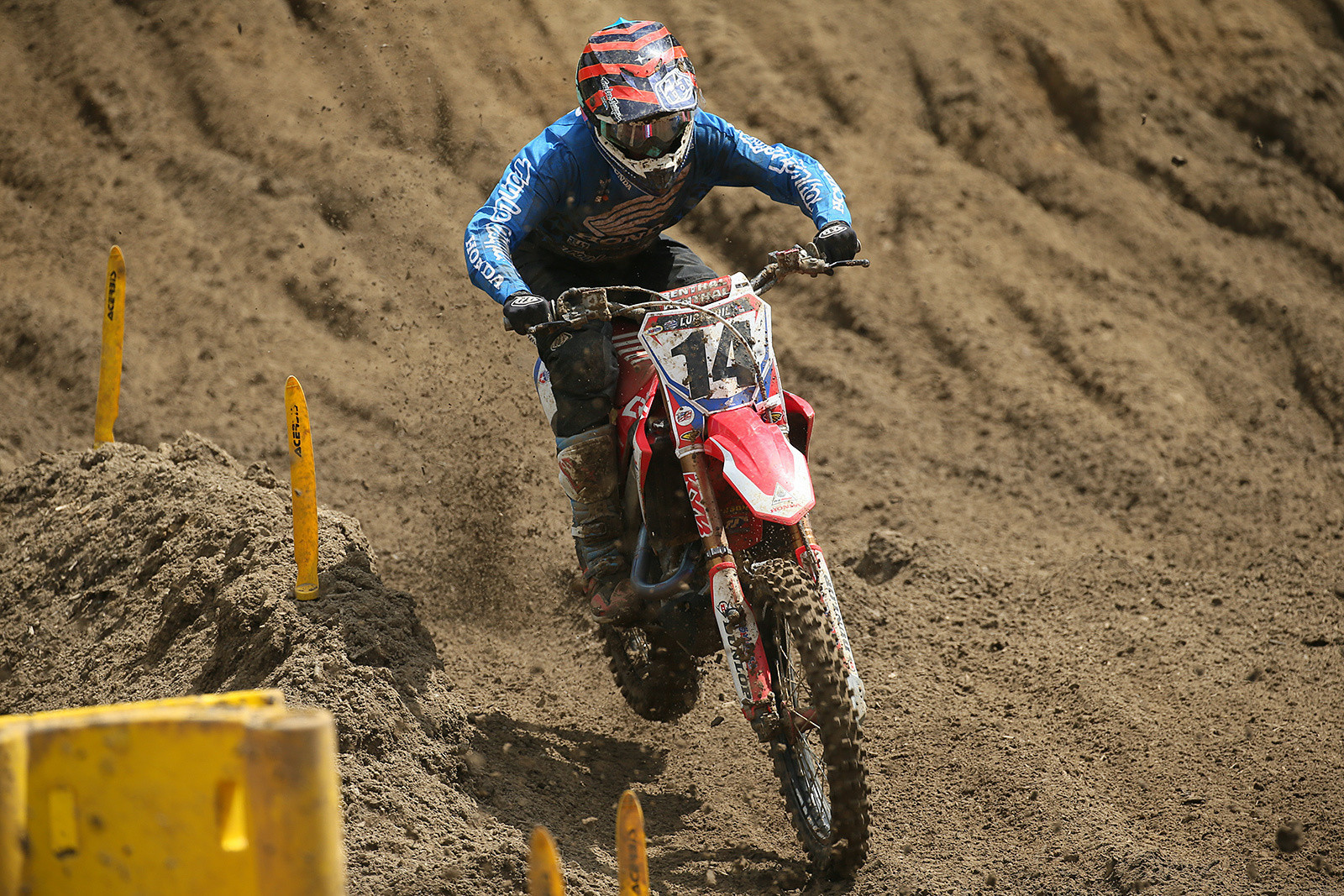 Cole Seely is currently fifth in the U.S. 450 standings.