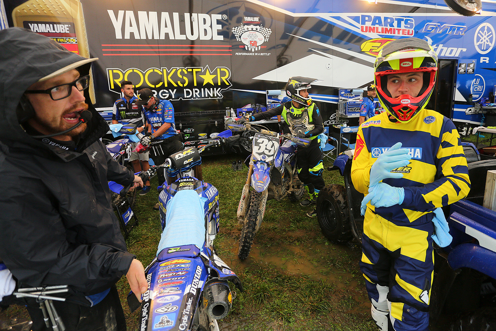 If it's Unadilla, bring on the recent grads from Loretta's. Justin Cooper (right) sure turned a lot of heads with his great start and second-place finish in the second 250 moto.