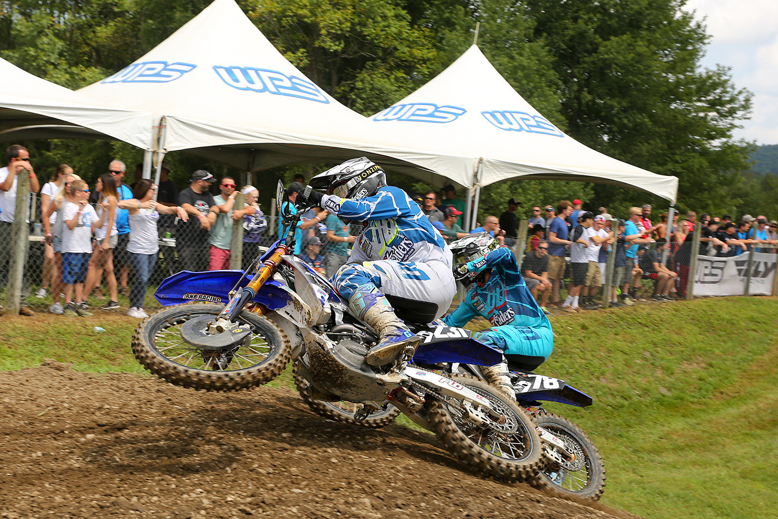 Jayce Pennington had a best of 17th in moto two, and was 20th overall.