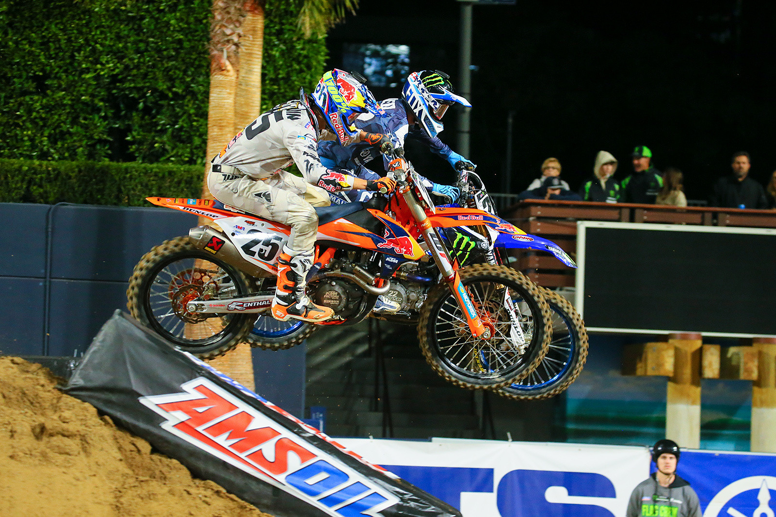 Marvin Musquin and Chad Reed.