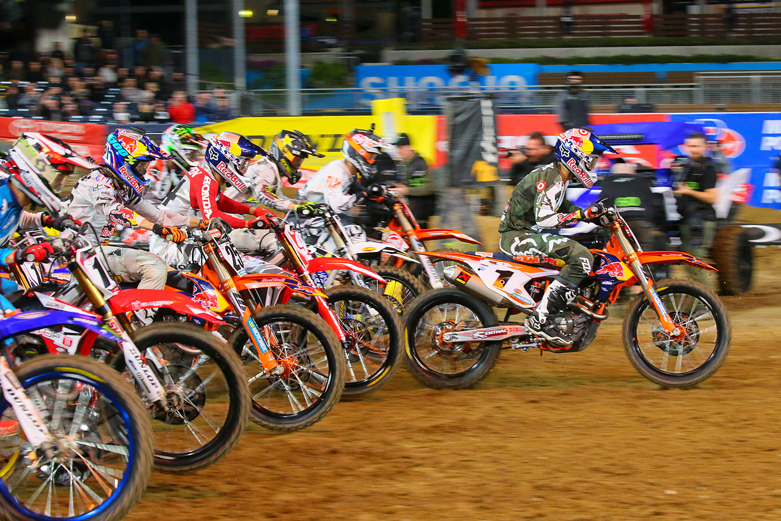 Ryan Dungey, and one huge holeshot.