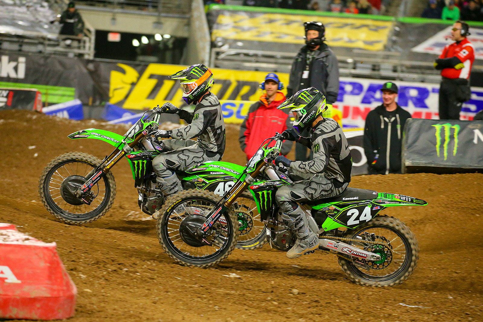 Justin Hill and Austin Forkner.