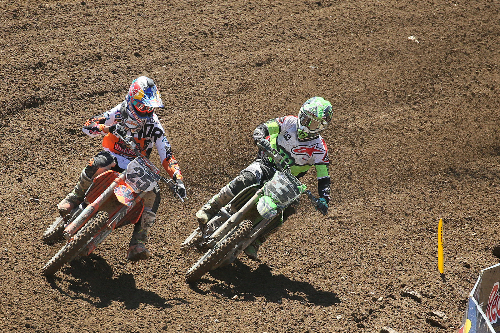 Marvin Musquin and Eli Tomac.