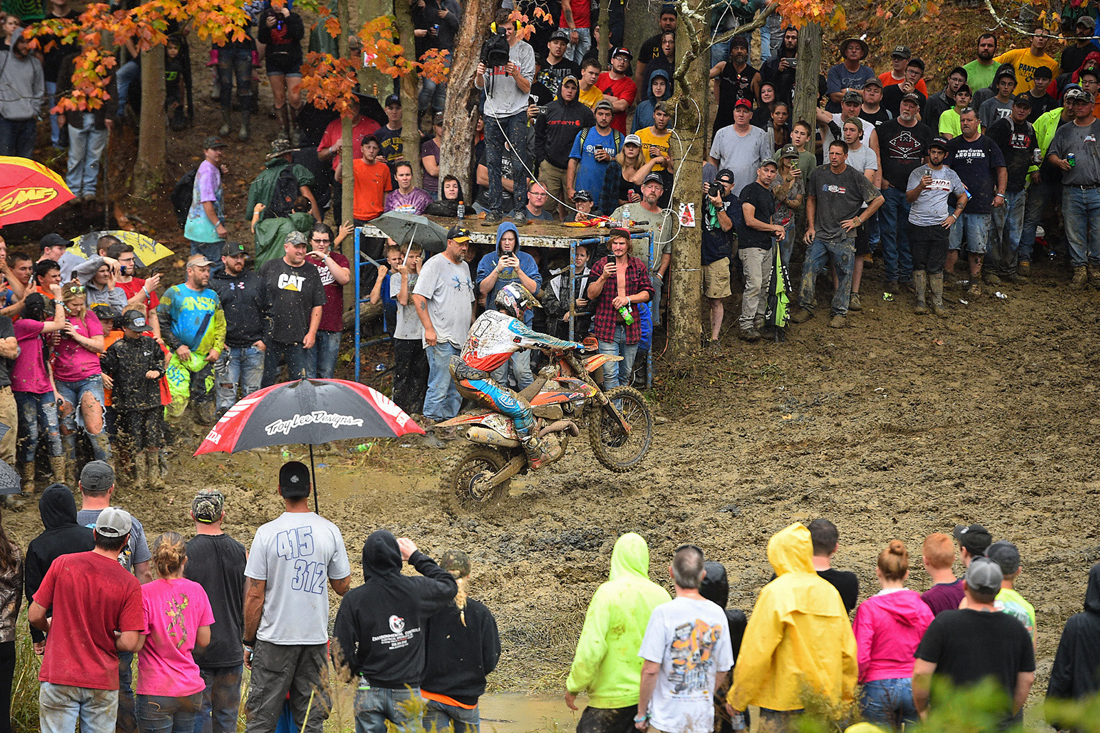Kailub Russell making it look easy as he rode to another XC1 pro win.