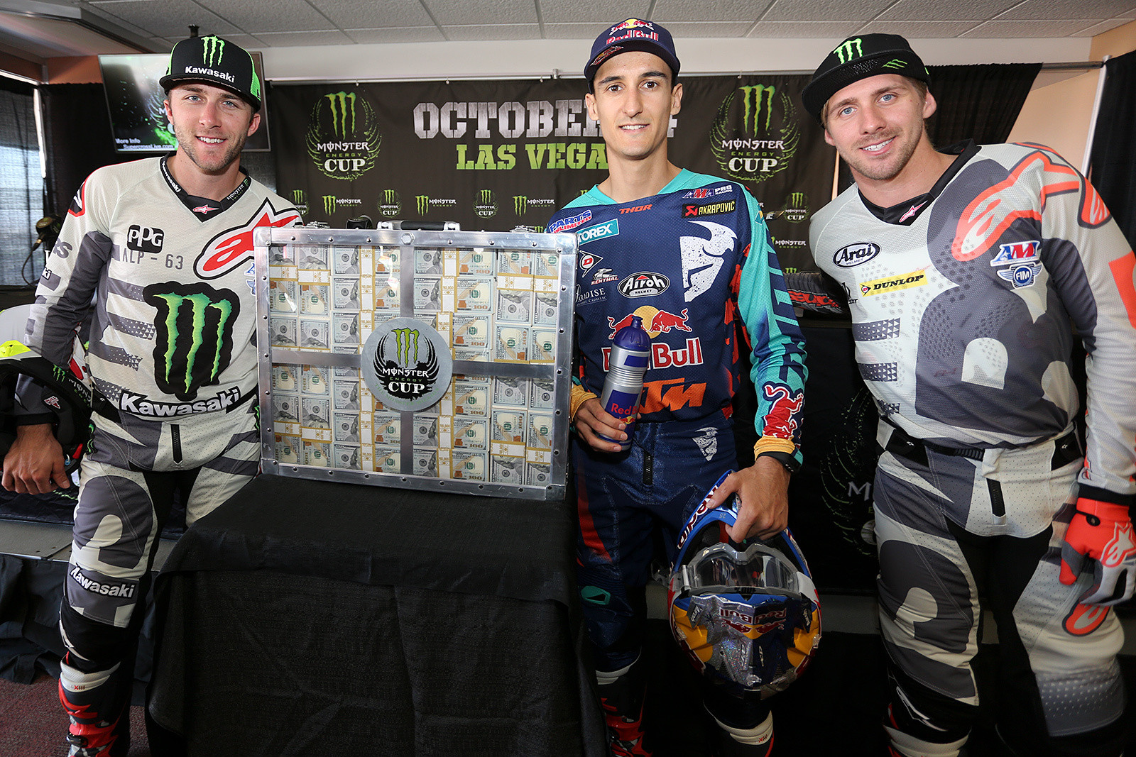 Can Marvin Musquin take the million against two former overall winners of Eli Tomac and Justin Barcia?