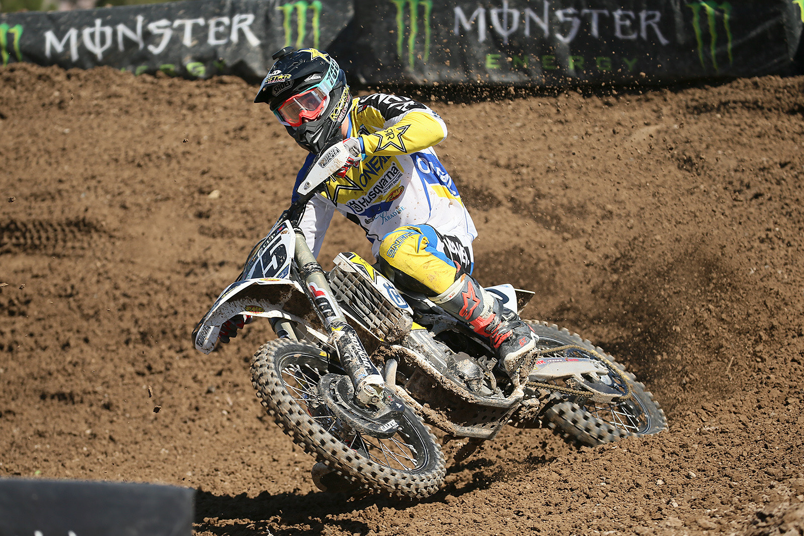 Fastest qualifier in the Cup class here at the Monster Energy Cup? How about Dean Wilson?