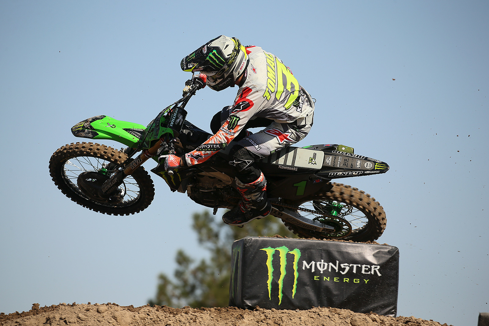 Last year's winner, Eli Tomac, was the second-fastest in the Cup class.