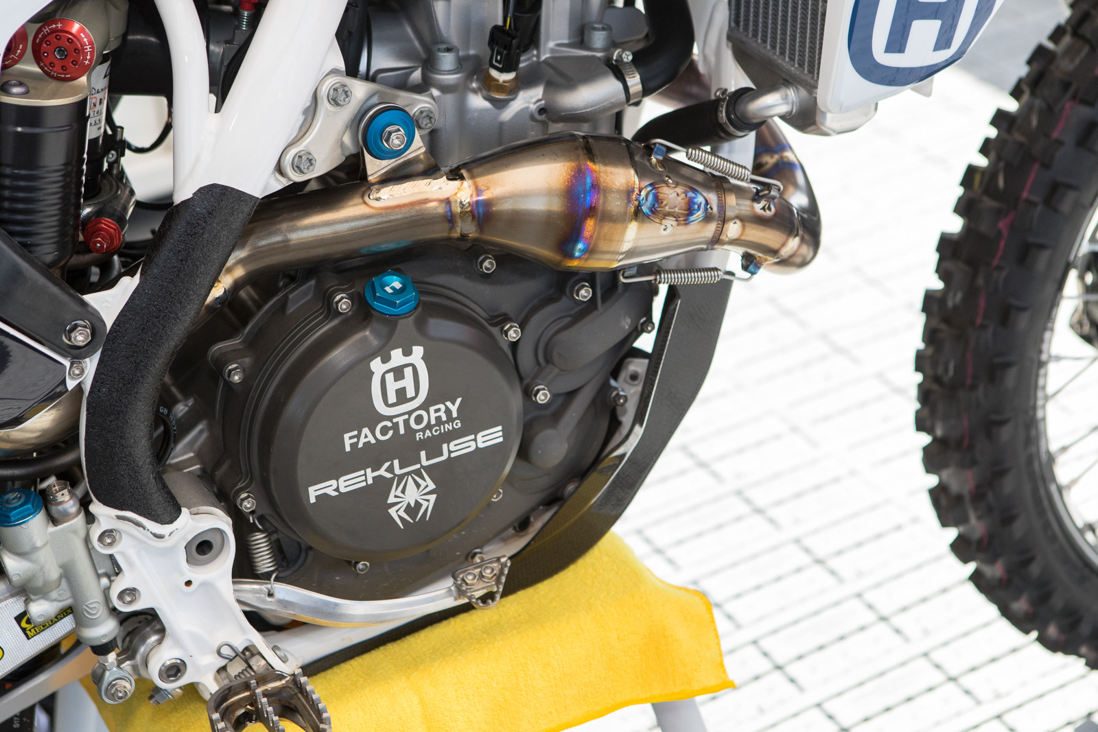 Rekluse is now partnered with Husqvarna world-wide.