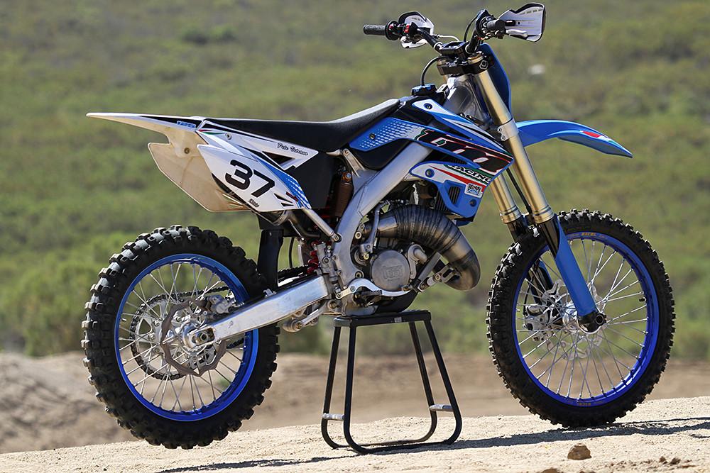 The 2012 TM MX 125 - side - 2012 TM MX 125 - Motocross ...