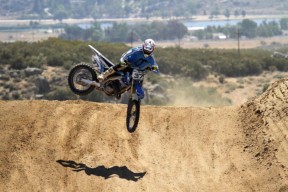 2012 TM MX 125 - Action 4 - 2012 TM MX 125 - Motocross Pictures - Vital MX