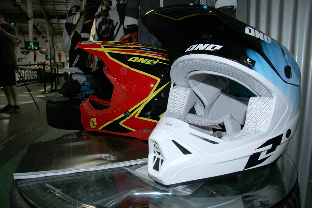 Gamma Helmet - One Industries 2013 Gear Intro - Motocross Pictures - Vital MX