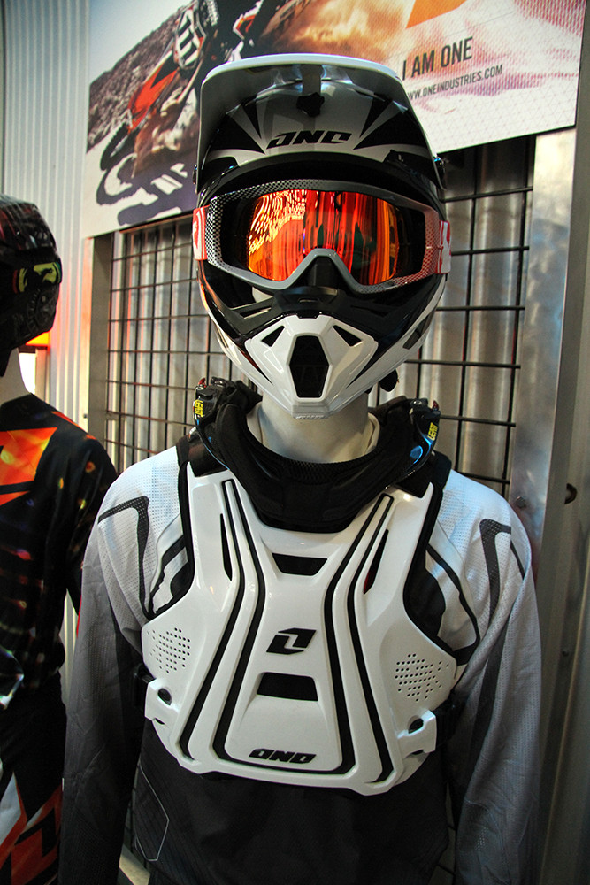 Interceptor Chest Pro - One Industries 2013 Gear Intro - Motocross Pictures - Vital MX
