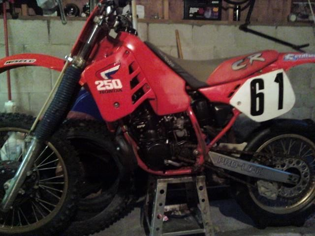 my cr. 250 - redride39 - Motocross Pictures - Vital MX