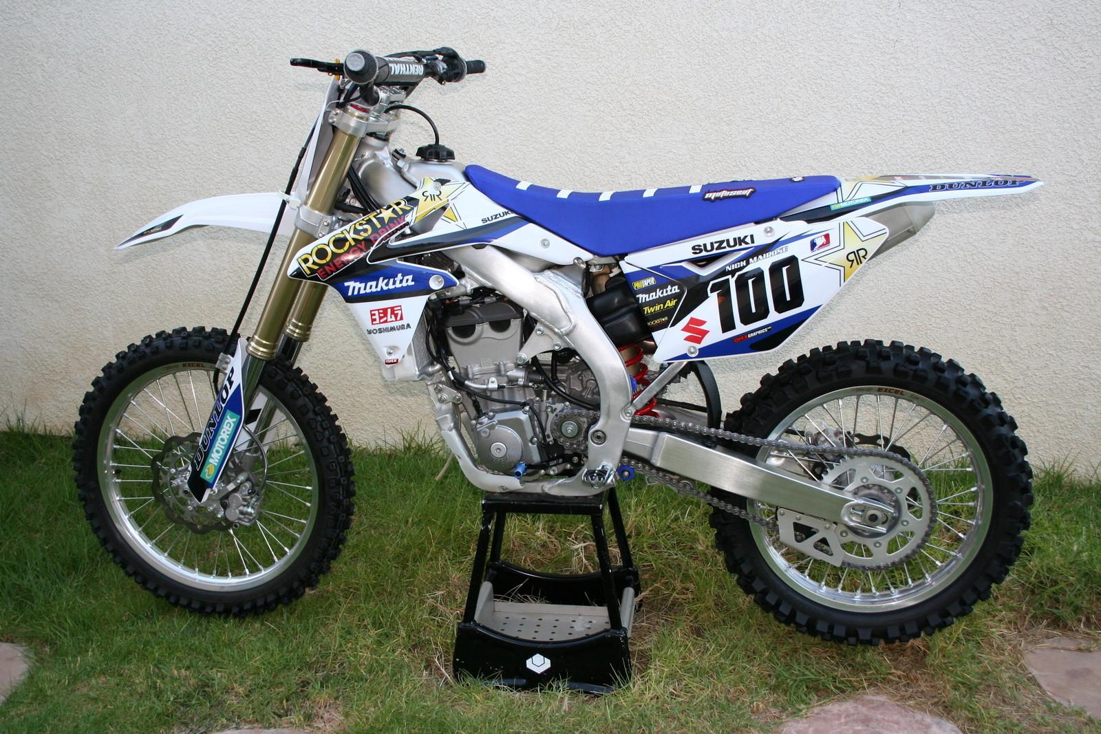 Qnr 2k14 Suzuki Rmz 450 Quiknic S Bike Check Vital Mx