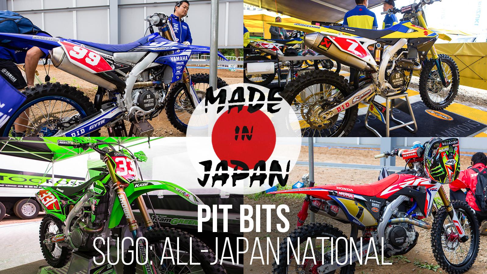 Vital MX Pit Bits: All-Japan Nationals - Sugo 2017 - Vital MX Pit Bits: 2017 Sugo All-Japan National - Motocross Pictures - Vital MX