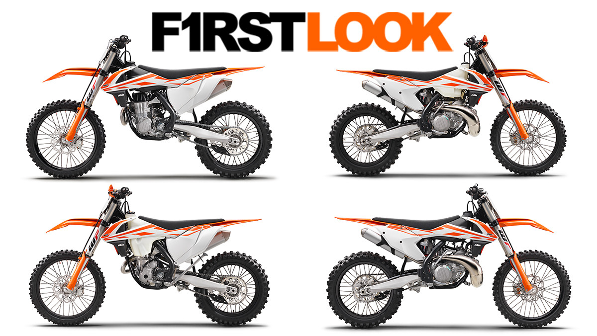 2017 ktm first look first look 2017 ktm motocross and cross country line