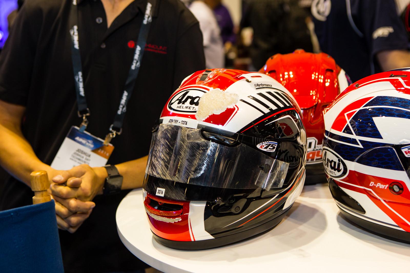 arai helmets 2016 american international motorcycle expo. Black Bedroom Furniture Sets. Home Design Ideas
