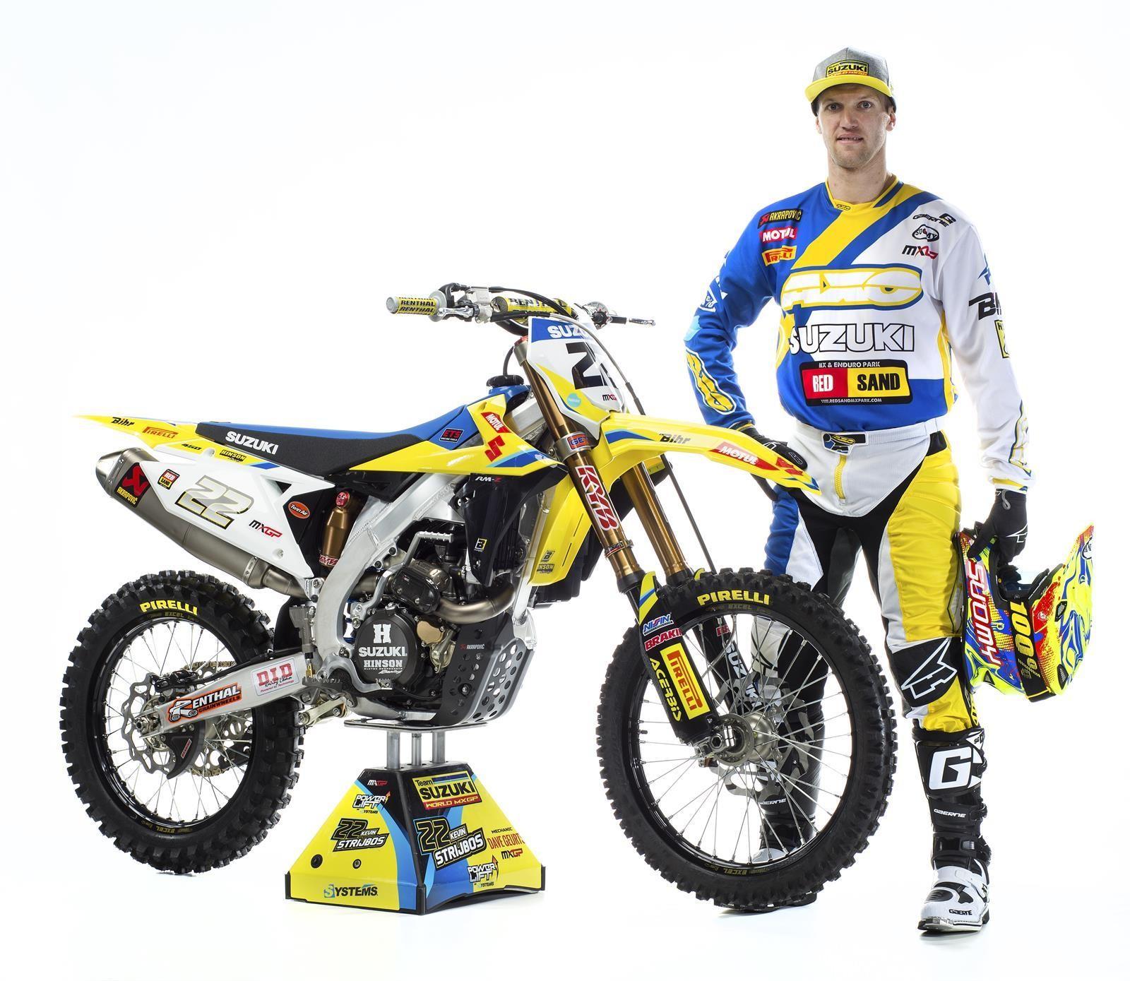 2018 suzuki motocross. exellent suzuki kevin strijbos and his 2018 suzuki world mxgp rmz450ws intended suzuki motocross