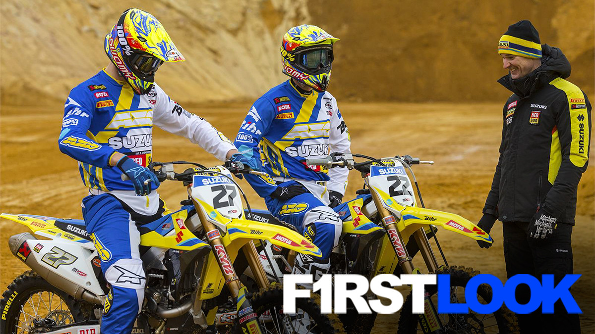 First Look: 2017 Suzuki World MXGP Team - First Look: 2017 Suzuki World MXGP Team - Motocross Pictures - Vital MX