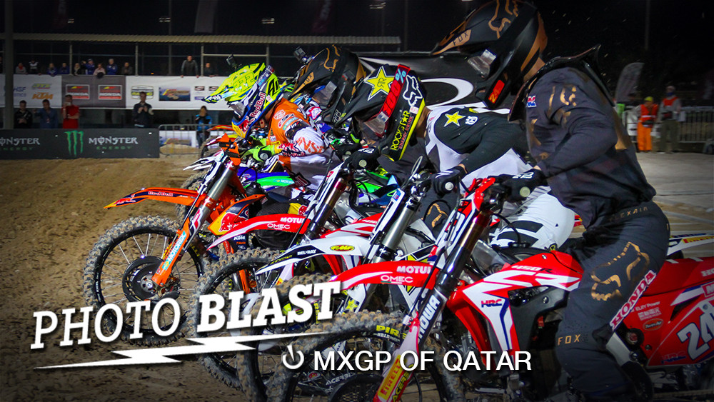 Photo Blast: 2017 MXGP of Qatar - Moto One Start - Photo Blast: 2017 MXGP of Qatar - Motocross Pictures - Vital MX