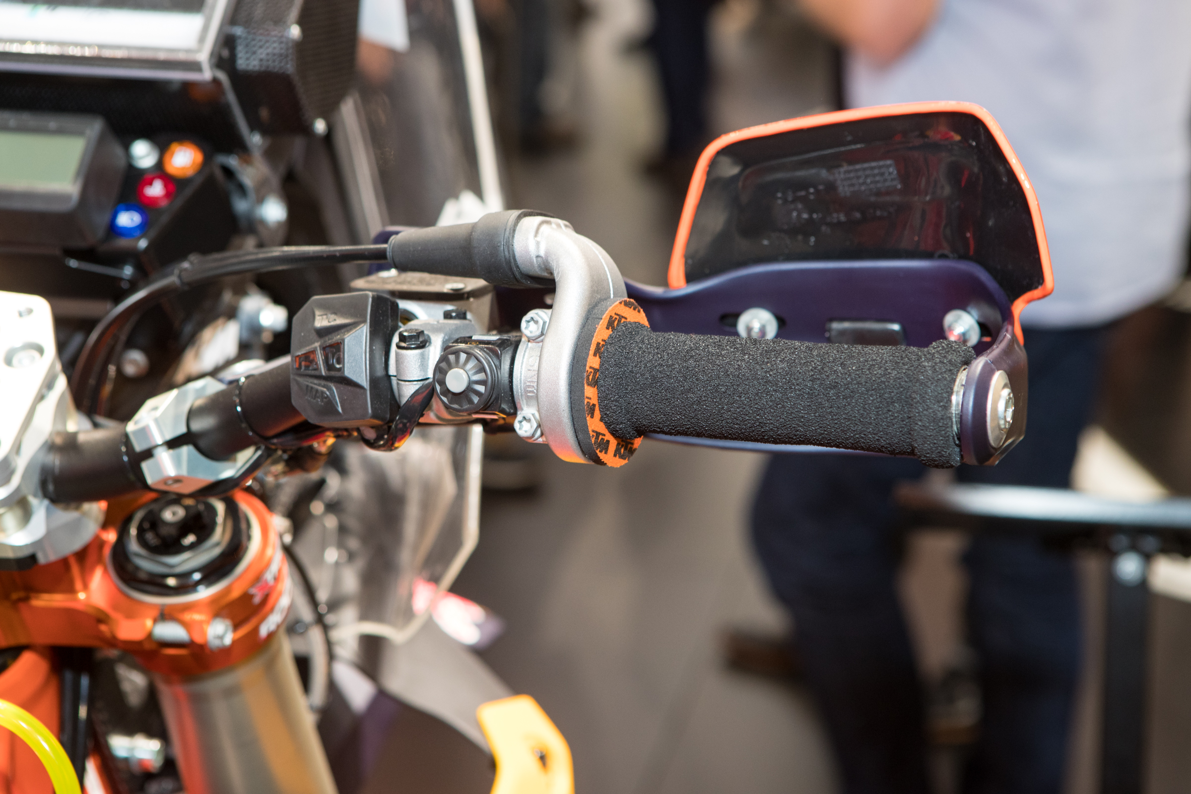 Long days in the saddle require come different, more comfortable grips.